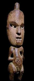 alex philips oceanic art - Maori figure