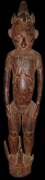 alex philips oceanic art - Lower Sepik hook figure