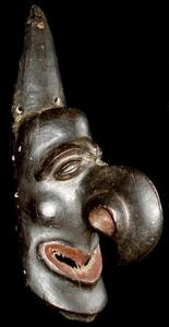 alex philips oceanic tribal art - new caledonian kanak mask